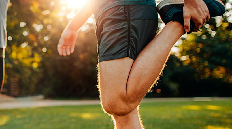 Preparando os joelhos para a corrida em 7 passos